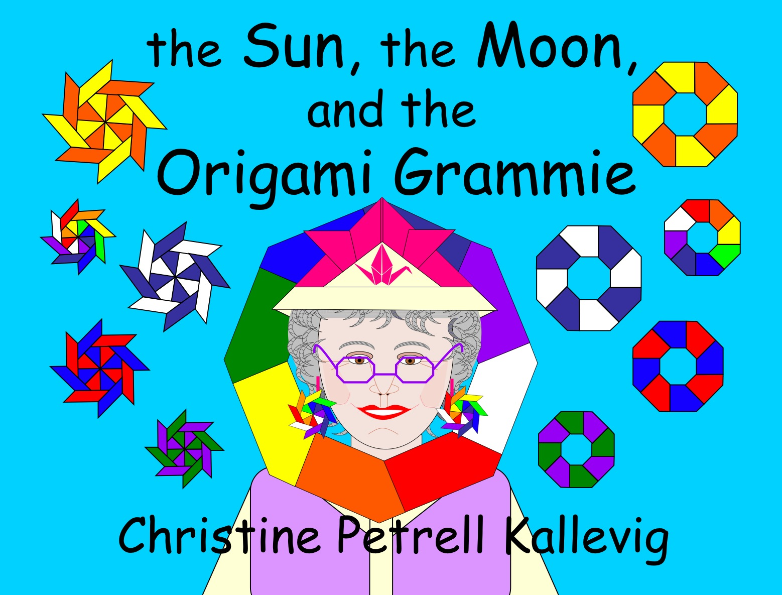 The Sun, The Moon, and the Origami Grammie by Christine Kallevig